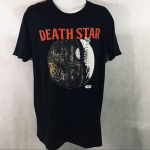 Star Wars Death Star Realtree Camouflage T-Shirt L